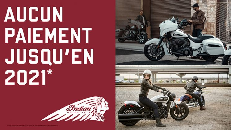 SEPTEMBRE – PROMOTION INDIAN MOTORCYCLE