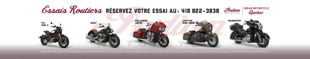 Essais Indian Motorcycle